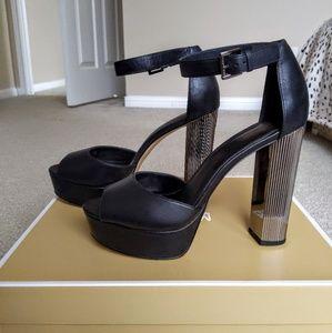 650b0a7b64a Michael Kors Paloma Leather Platform Sandal heels